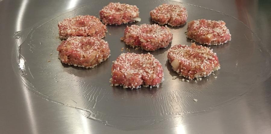 Cook-N-Dine Teppanyaki Frikadellen Cooking