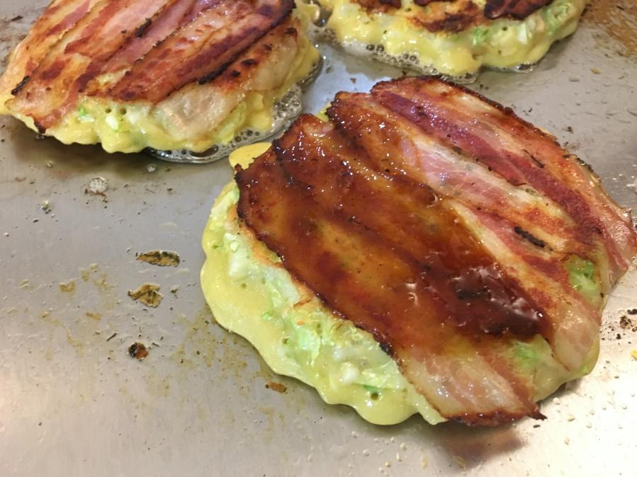 Okonomiyaki Teppanyaki Cook-N-Dine Bacon + Sauce
