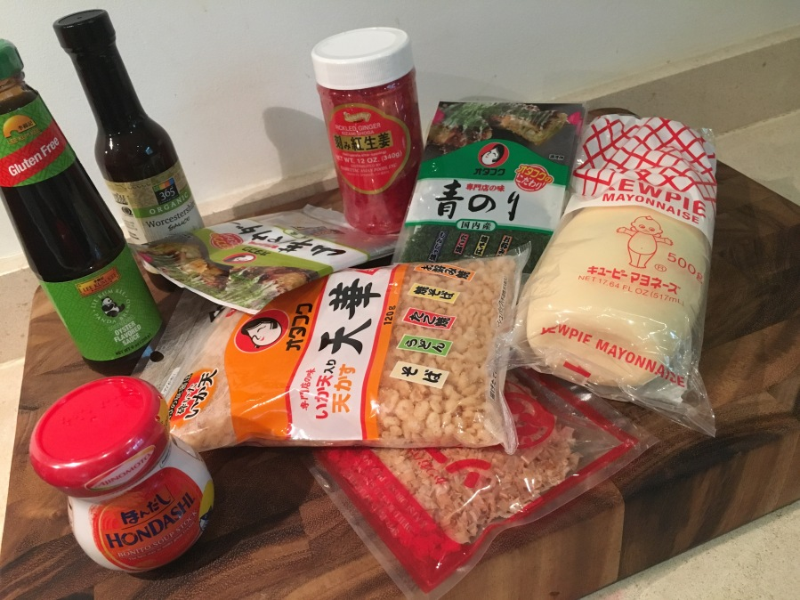Okonomiyaki Teppanyaki Cook-N-Dine Ingredients for Prep